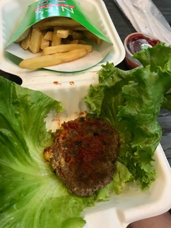 Nic's Organic Burger