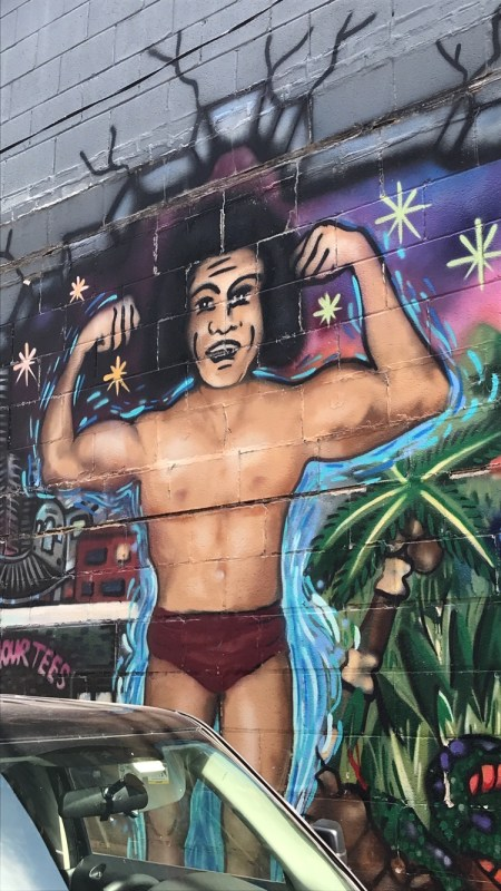Andre the Giant mural