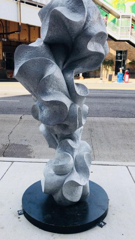 Depth of Form sculpture