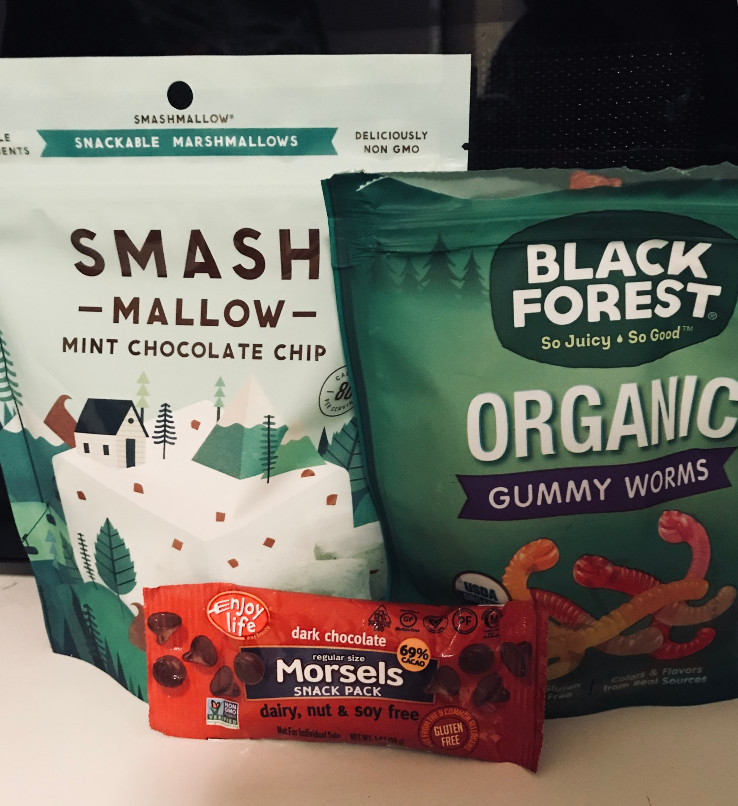 Marshmallow Monsters ingredients
