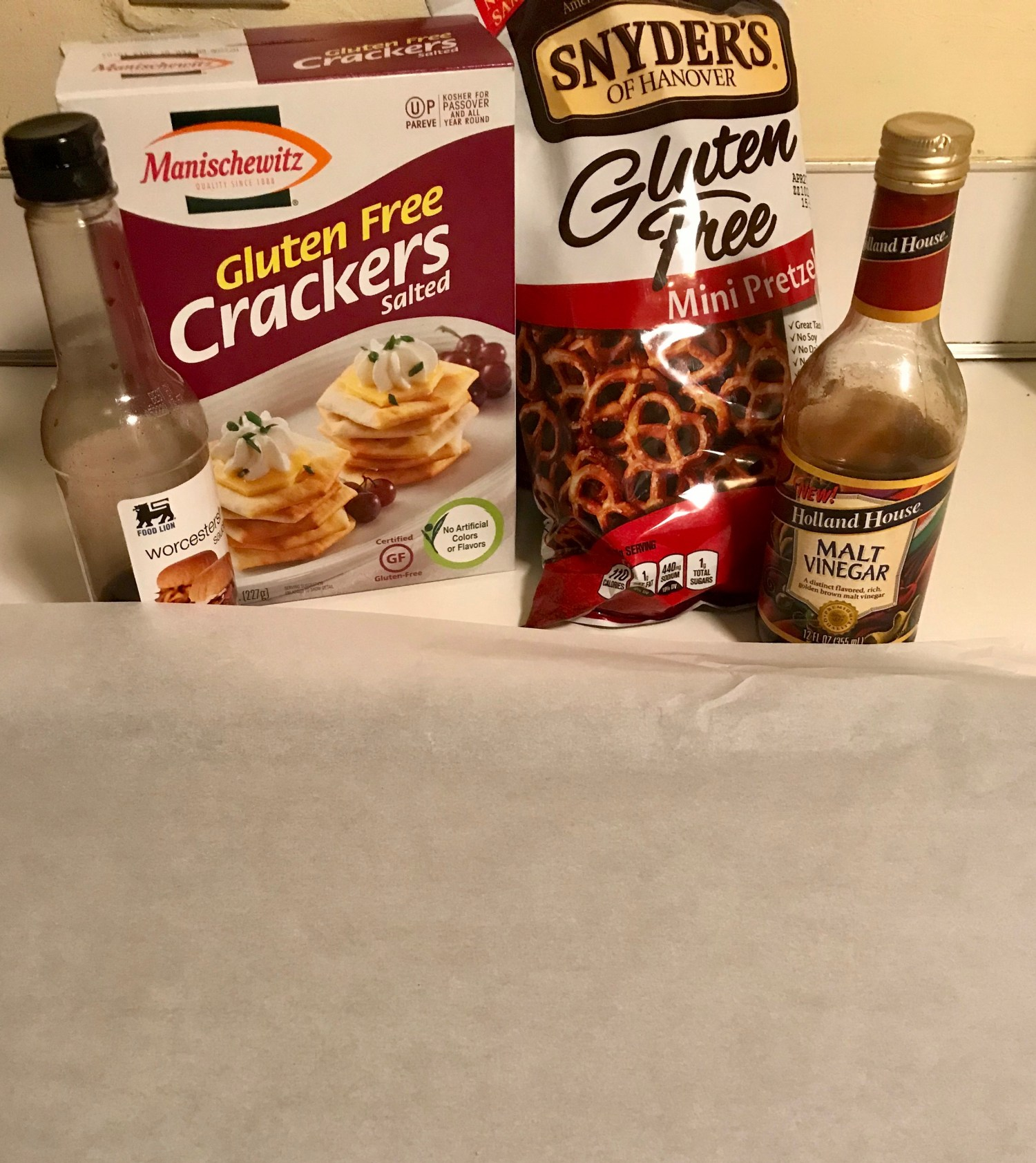 Party Mix ingredients
