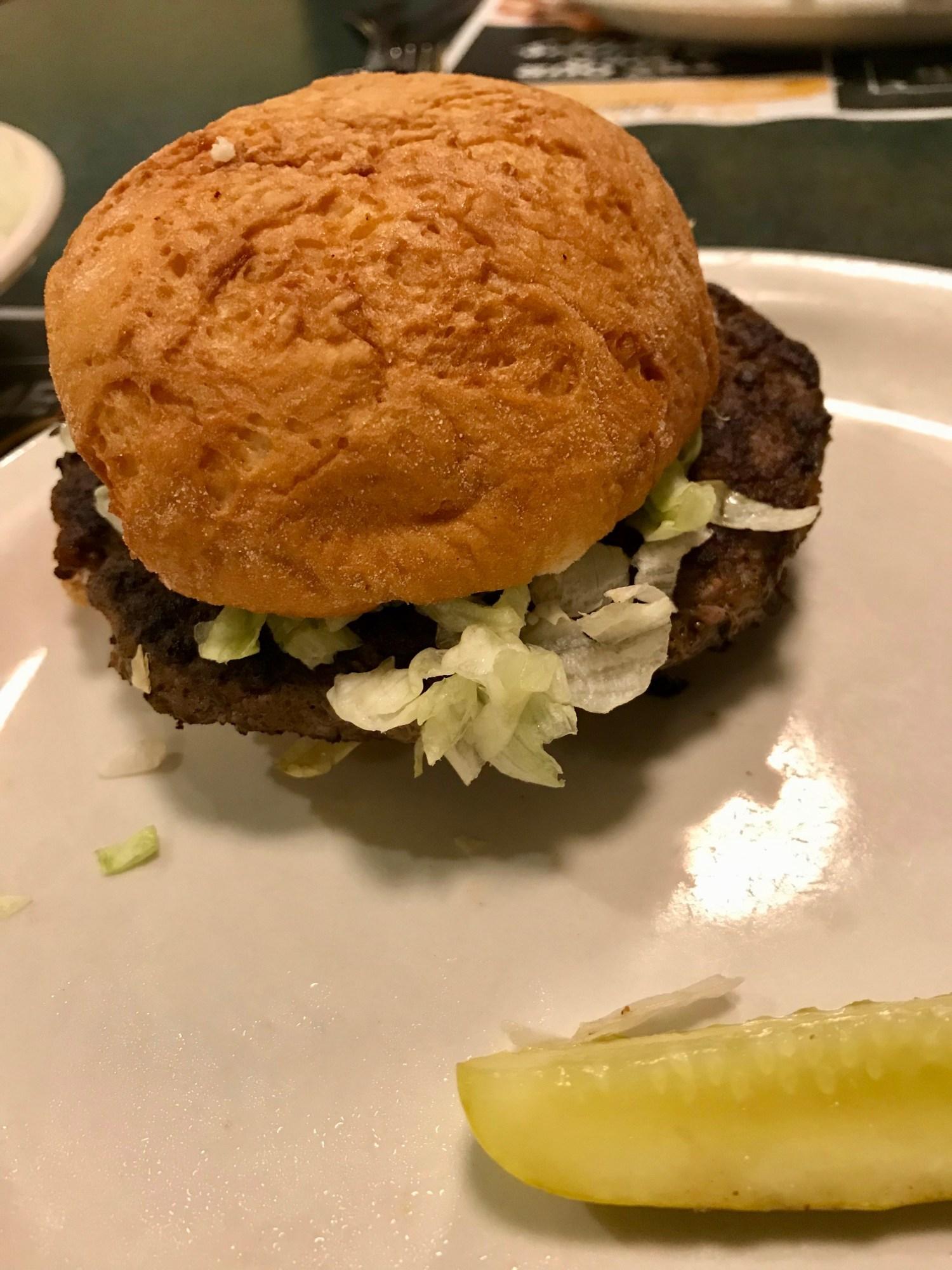 Metro Diner Burger