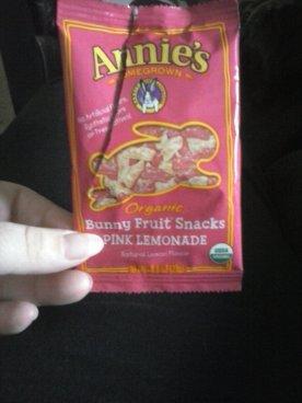 Annie's Pink Lemonade GF gummies