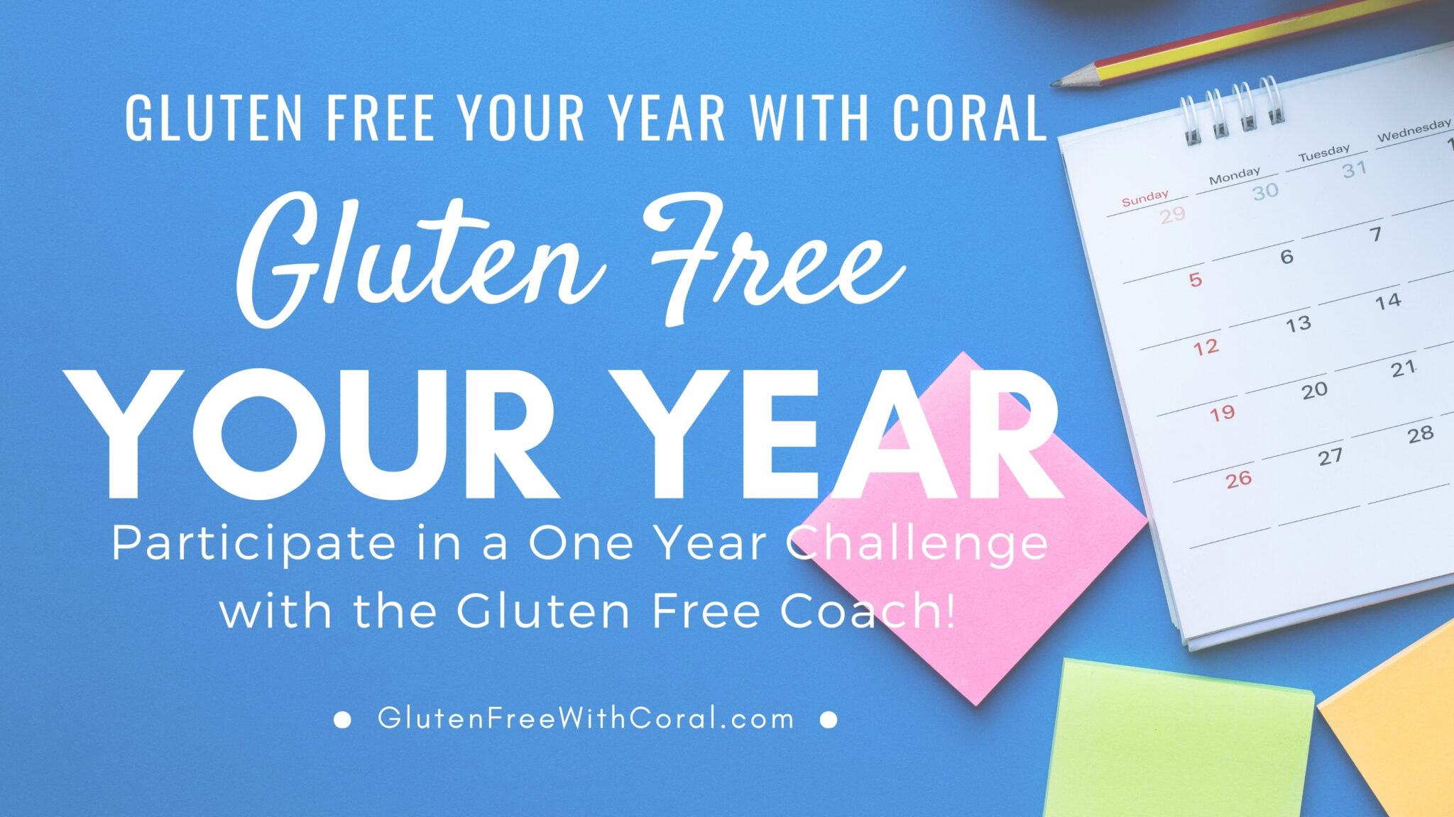 Gluten Free Your Year with Coral