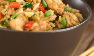Gluten-free chicken fried rice