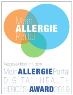 Mein Allergie Portal - Digital Health Heroes Award 2019