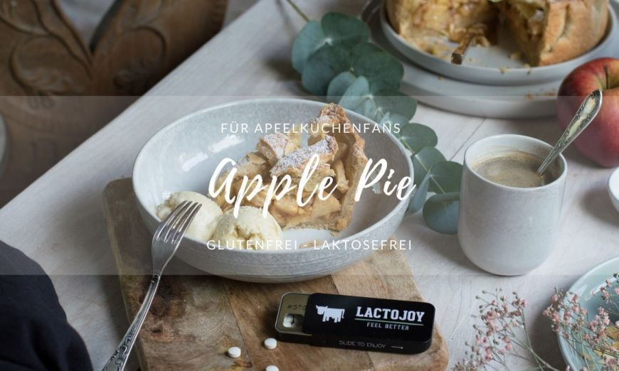 Rezept glutenfreie laktosefreie Apple Pie