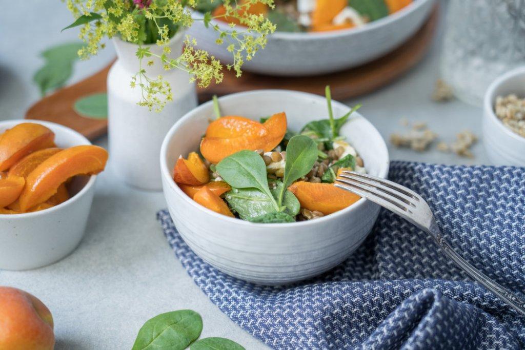 Der Salat passt auch super als Grillbeilage!