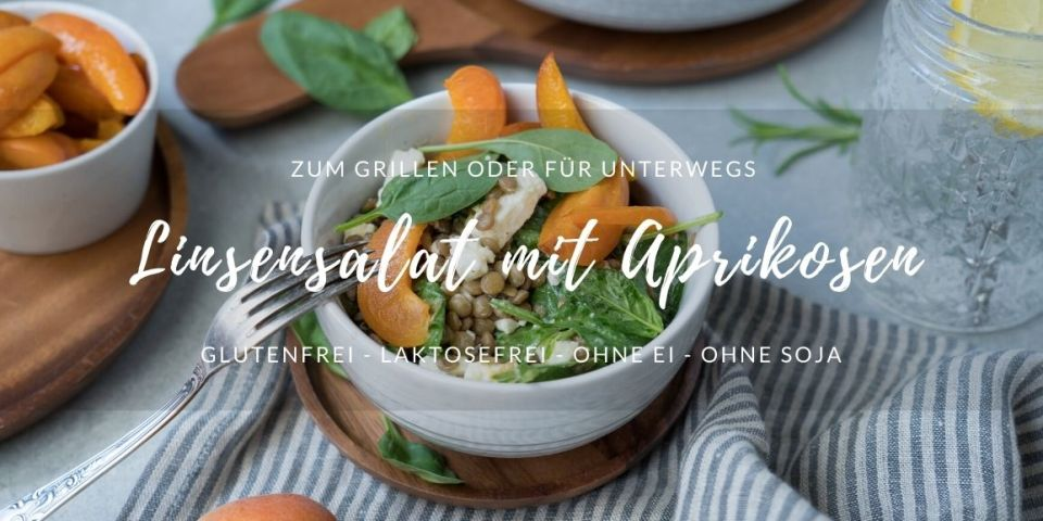 Rezept Linsensalat mit Aprikosen