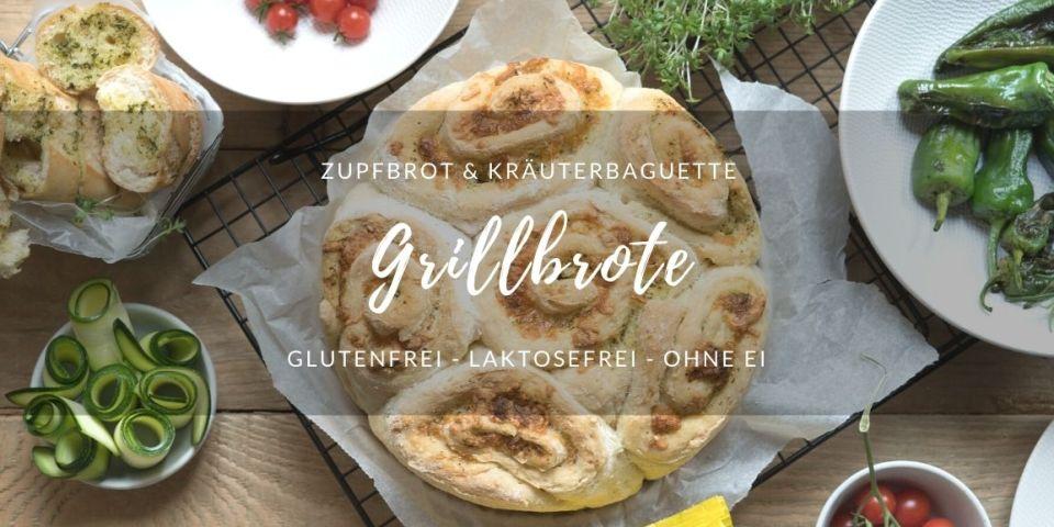 Rezept glutenfreie Grillbrote