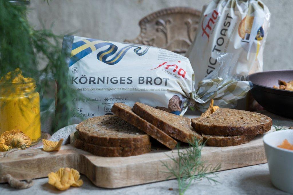 Das körnige Brot von Fria schmeckt so gut!