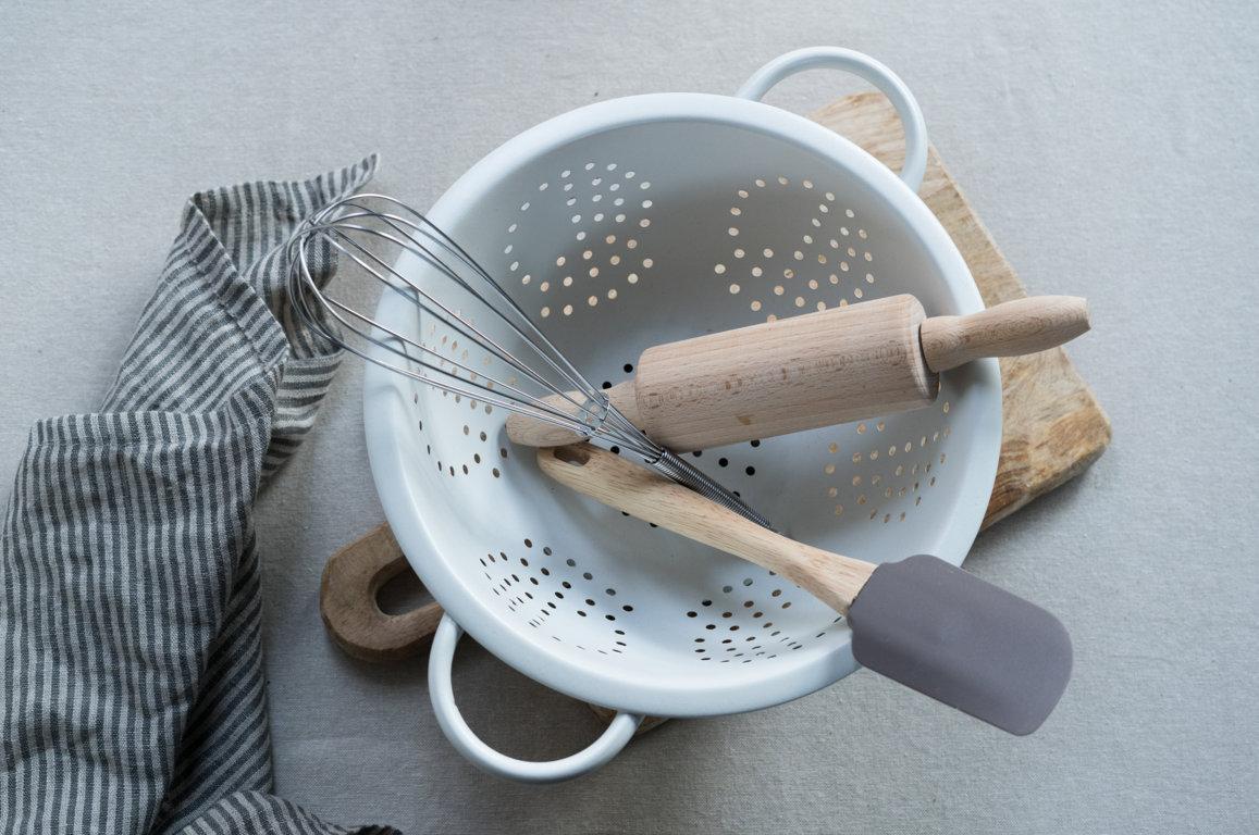 Küchenutensilien für die glutenfreie Küche