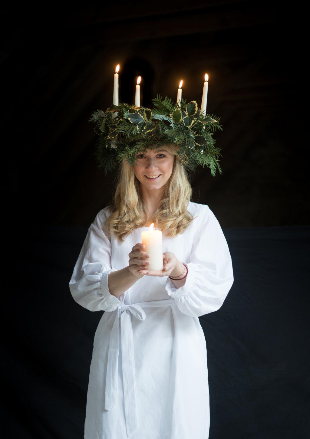 Luciafest in Schweden