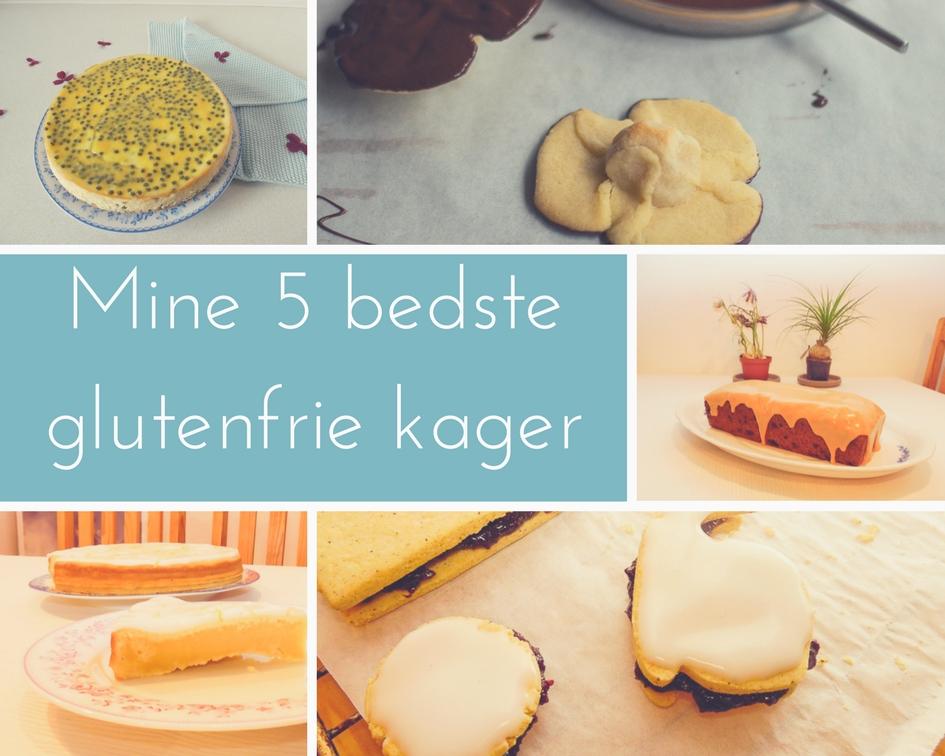mine 5 bedste glutenfrie kager