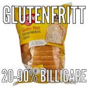Köp glutenfria produkter billigare!
