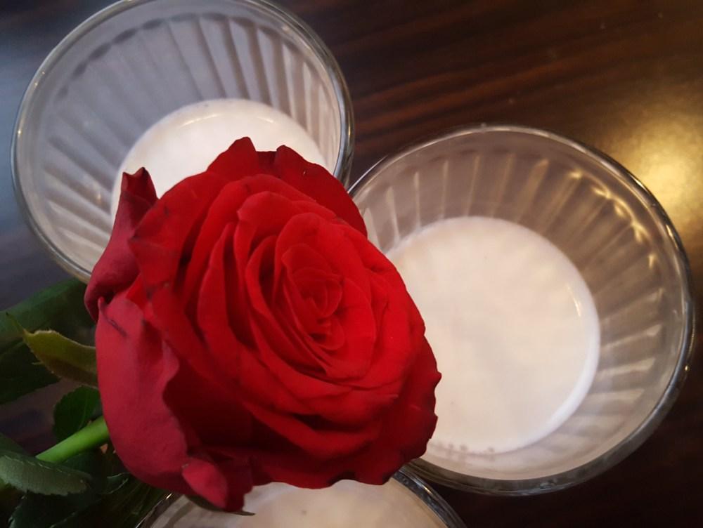 Gluten- og melkefri panna cotta