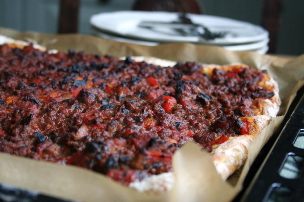 Gluten og melkefri pizza