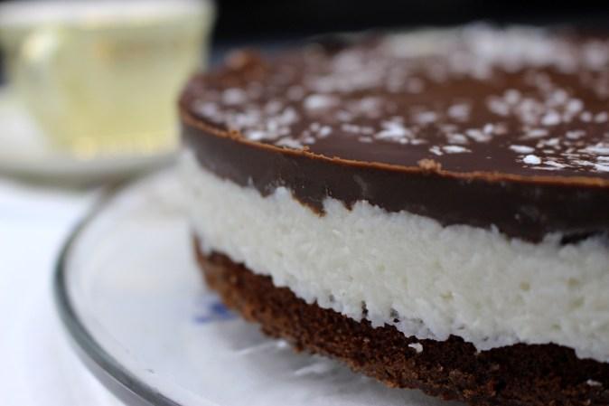Gluten- og melkefri Bountykake