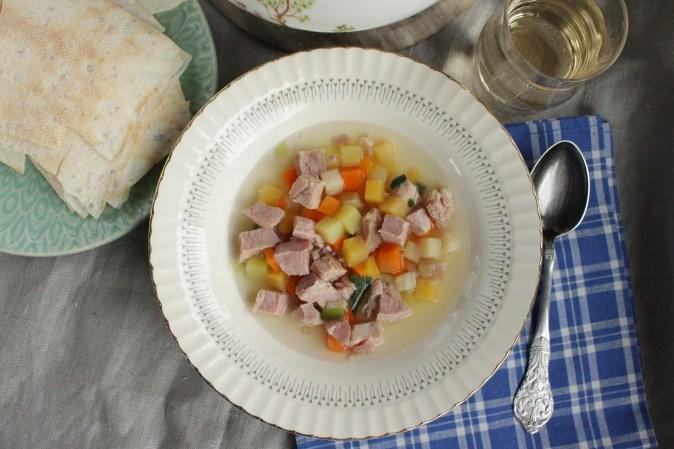 Inderøy Slakteri kjøttsuppe