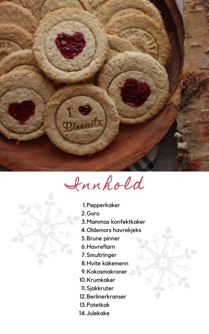 Gluten- og melkefri julebakst