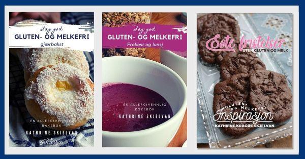 Gluten- og melkefri bokpakke