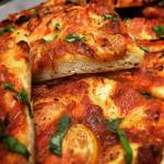 Pizza sans gluten vegan Le Comptoir Nice