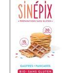 Preparation Gaufres Pancakes sans gluten Sinepix