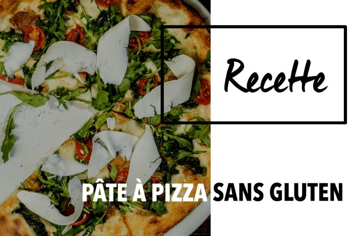 Recette Pâte à pizza sans gluten et vegan