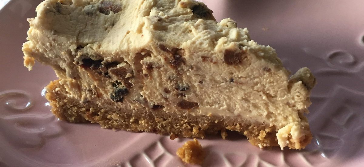 RECIPE: Gluten free Christmas pudding cheesecake aka your new favourite dessert