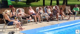 Pool chatter