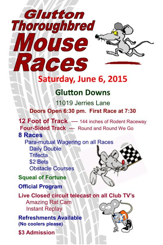 Mouse Race Flyer 2015