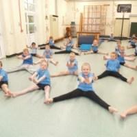 Year 4 are brilliant in gymnastics