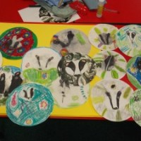 Badger art!!