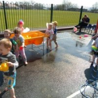 Water Day in Nursery