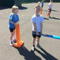 Year 2 enjoy cricket training