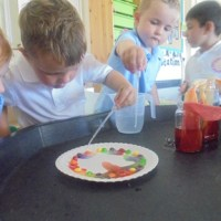 Science Week in Nursery