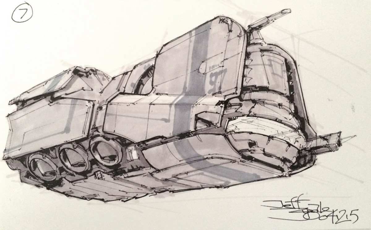 Every Spacer Poops: an Interview with Concept Artist Jeff Zugale
