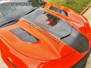 IROCZ Camaro hood