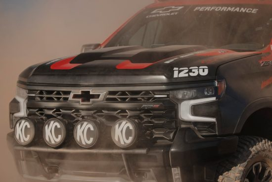 The first-ever Silverado ZR2, Chevy's flagship off-road truck,