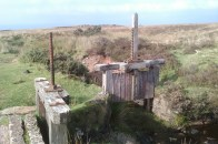 Original wooden structures on Kelly Cut
