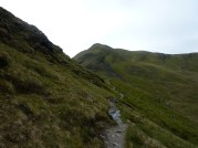 Meall Corranaich from Ben Lawers lower path