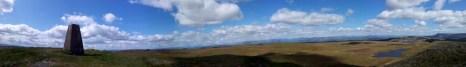 Panorama NE to W