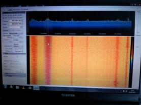 SDRSharp Rx'ing local FM radio