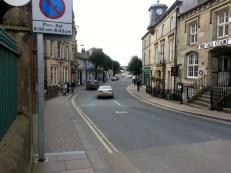 Looking along Cockermouth main street