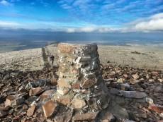 Tinto summit cairn