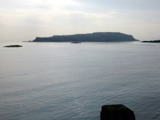 wee cumbrae from Millport pier