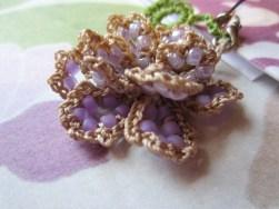 lavender, beaded crochet, etsy 006