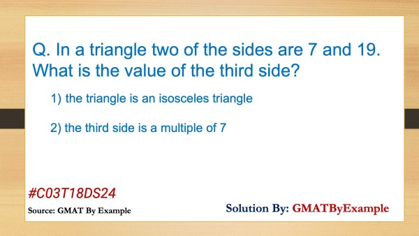 Tricky Triangles – daily GMAT practice example – DS