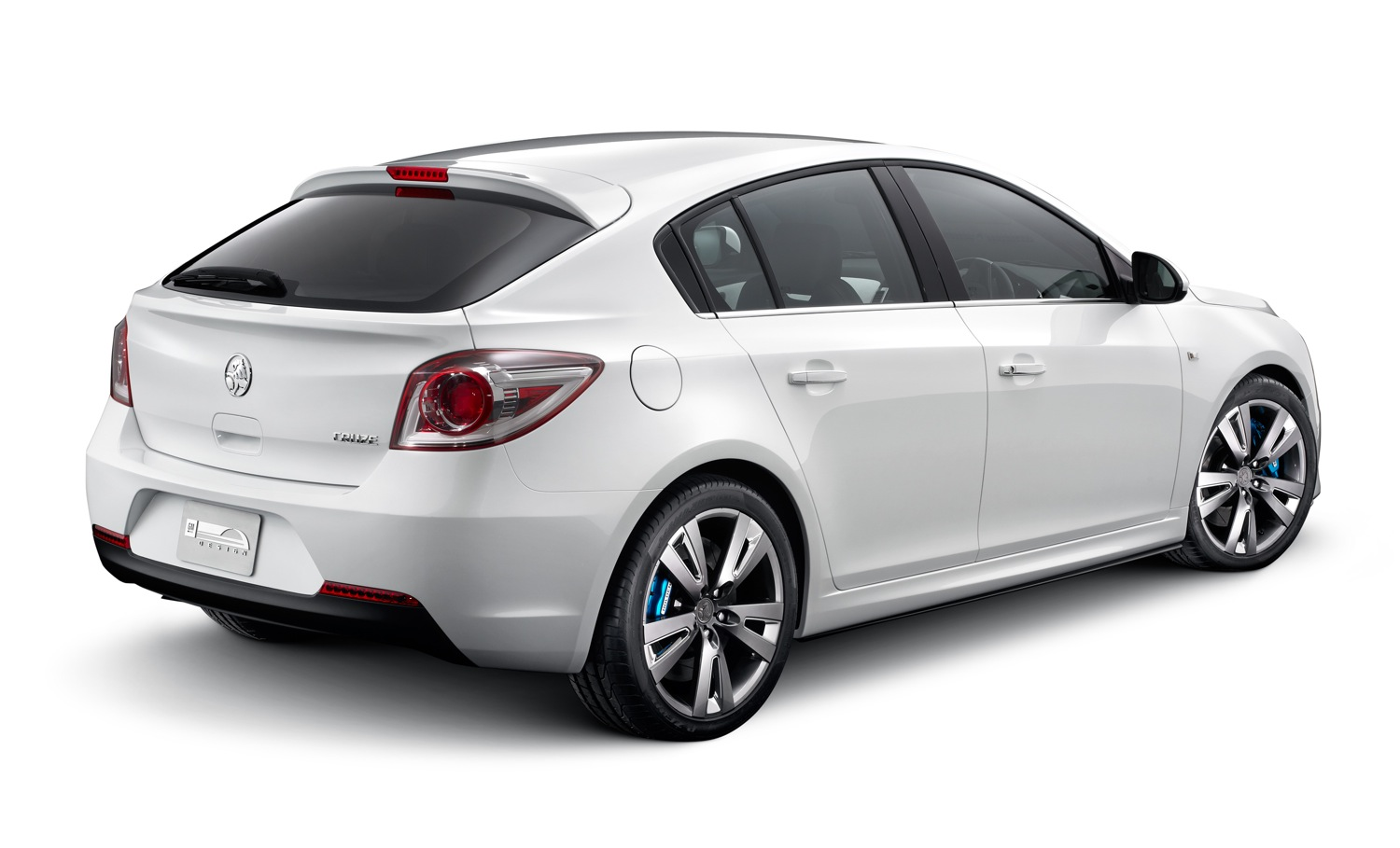 hight resolution of holden cruze hatch