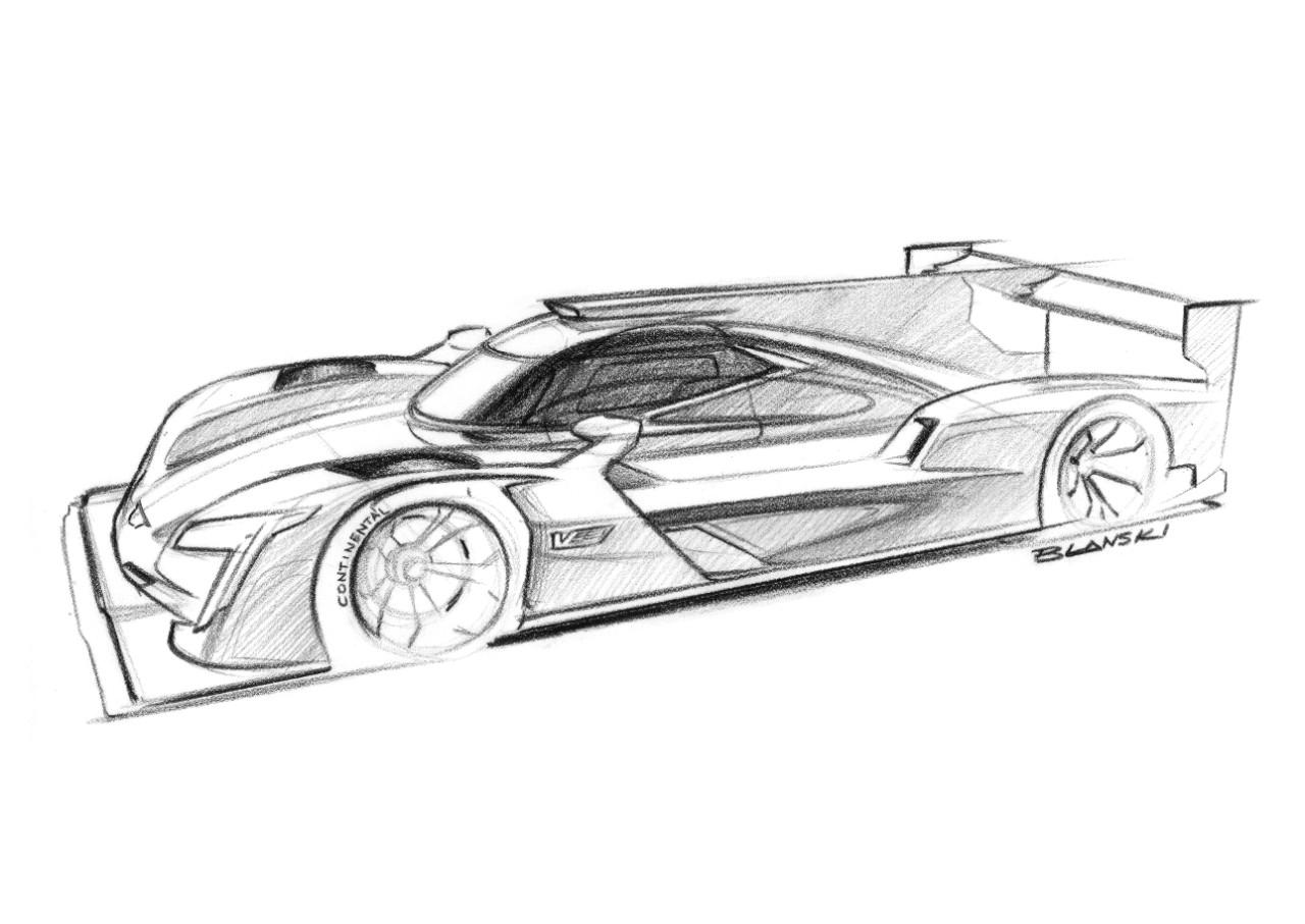 Cadillac Daytona Prototype Dpi V R Race Car